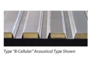 B Cellular Metal Deck