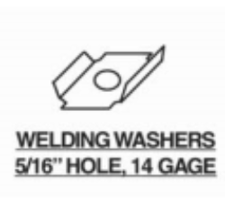 Welding Washers Steel Decking