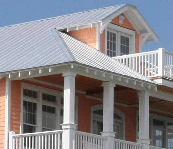5V Metal Roofing Panels House Sample