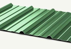 Unpainted Grades: Acrylic coated Galvalume, Galvanized