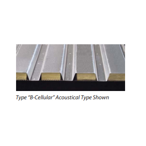 Type B Cellular Acoustical Type Shown