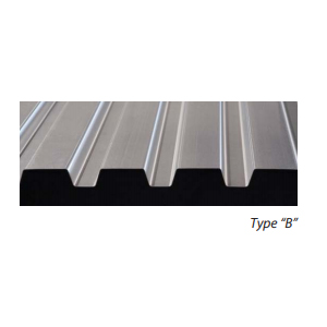 Type B Roof Deck Wide Rib