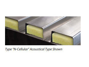 Type N Cellular Acoustical Type Shown