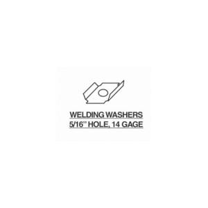 Welding Washers 5-16 Hole 14 Gage